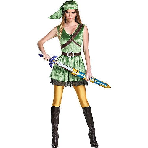 Adult Link Dress Costume - The Legend of Zelda Image #1