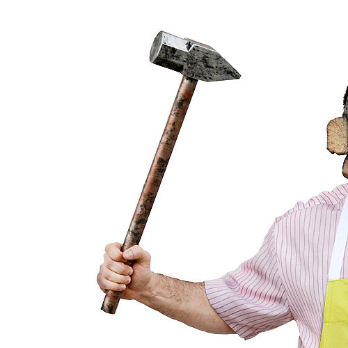 Adult Leatherface Costume - The Texas Chainsaw Massacre Image #4