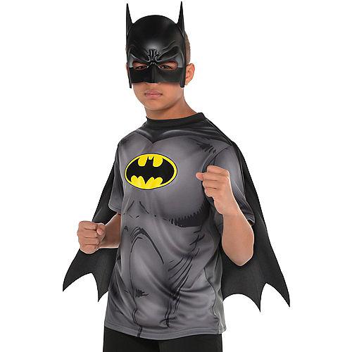 Child Batman T-Shirt with Cape Image #1