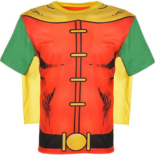 Adult Robin T-Shirt with Cape - Batman Image #2