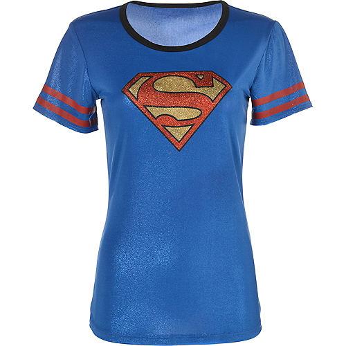 Adult Supergirl T-Shirt - Superman Image #2