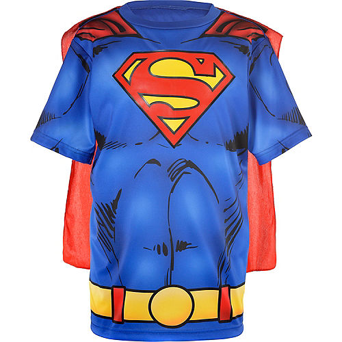 Child Superman T-Shirt with Cape Image #2
