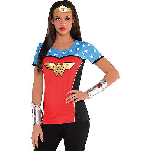 Adult Wonder Woman T-Shirt Image #1