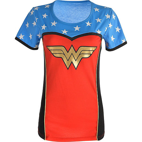 Adult Wonder Woman T-Shirt Image #3