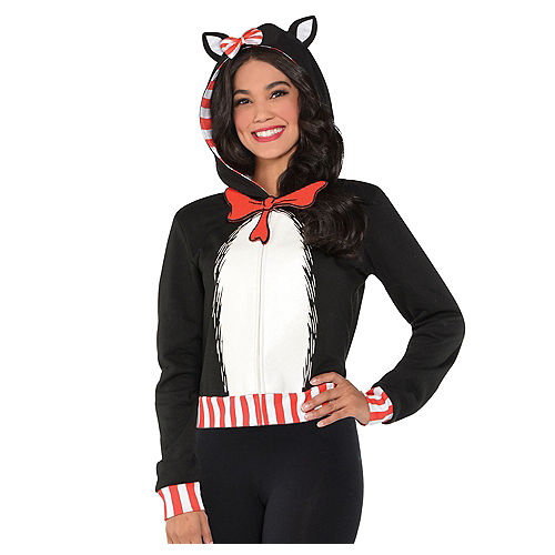 Adult Cat in the Hat Hoodie - Dr. Seuss Image #1