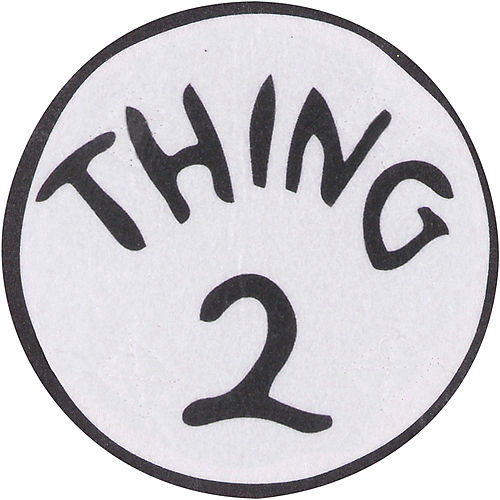 Adult Thing 1 & Thing 2 Accessory Kit - The Cat in the Hat Image #3