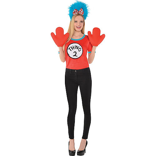 Adult Thing 1 & Thing 2 Accessory Kit - The Cat in the Hat Image #4