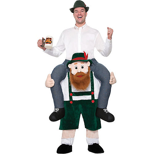 Adult Beer Buddy Ride-On Costume Image #1