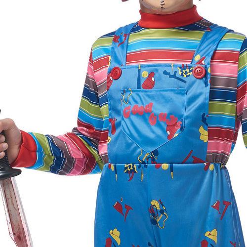 Boys Chucky Costume Image #3