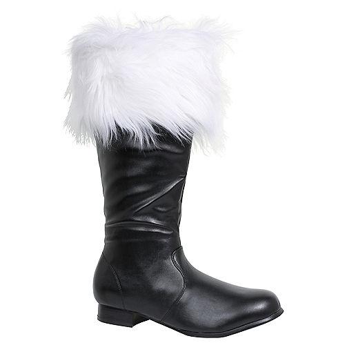 Adult Santa Boots Image #1