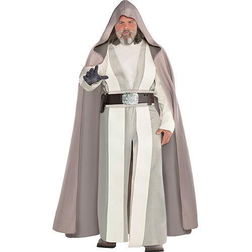 Adult Luke Skywalker Costume Plus Size - Star Wars 8 The Last Jedi Image #1