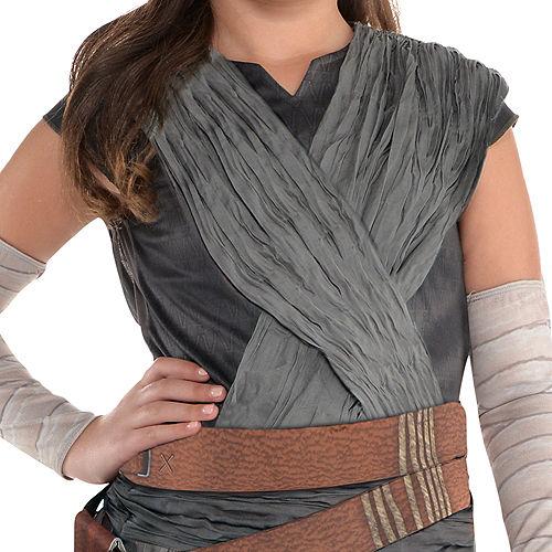 Girls Rey Costume - Star Wars 8 The Last Jedi Image #2