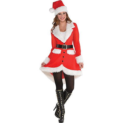 Adult Elegant Santa Costume Image #1