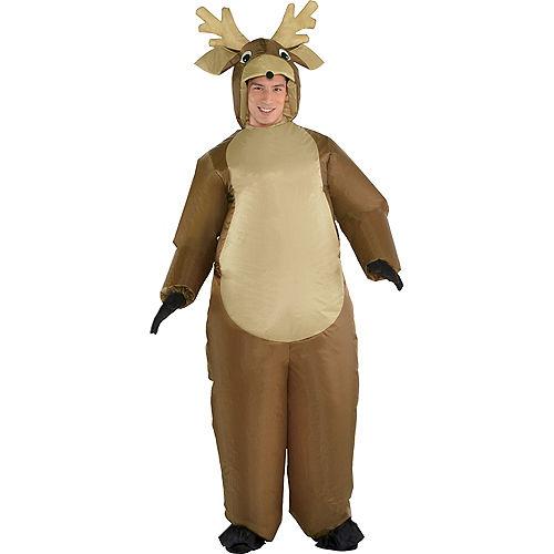 Adult Inflatable Reindeer Costume Image #1