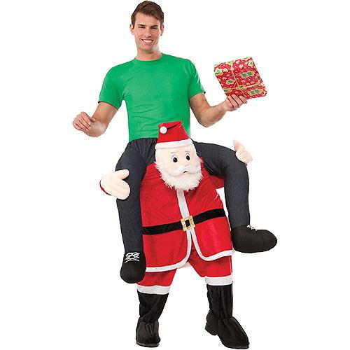 Adult Santa Ride-On Costume Image #1