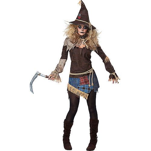 Womens Creepy Scarecrow Costume Image #1