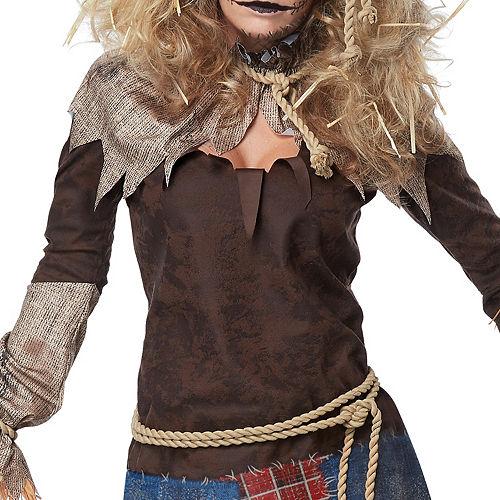 Womens Creepy Scarecrow Costume Image #3