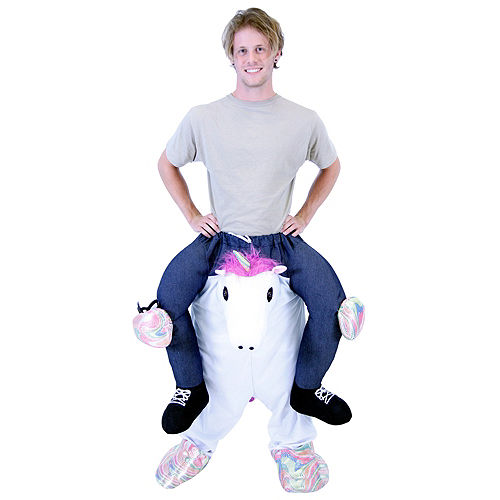 Adult Unicorn Ride-On Costume Image #1