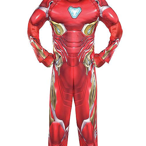 Boys Iron Man Muscle Costume - Avengers Infinity War Image #4