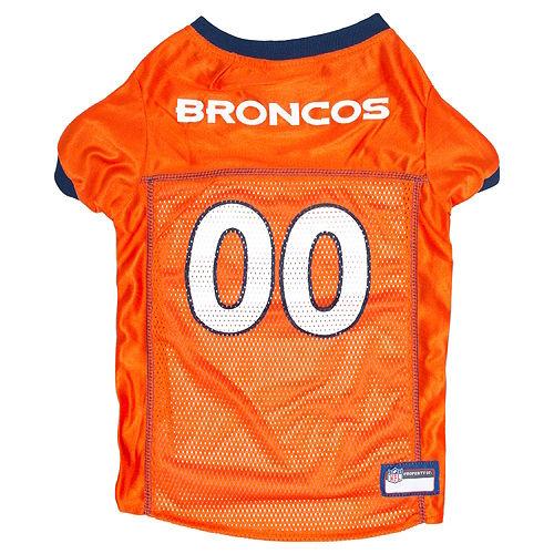 Denver Broncos Dog Jersey Image #1