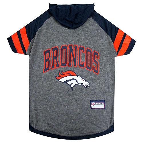Denver Broncos Dog Hoodie Image #1