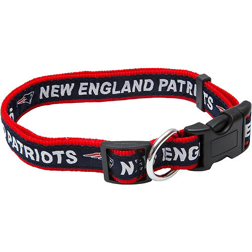 New England Patriots Dog Collar Image #1