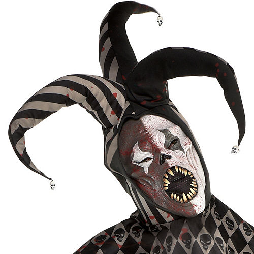 Mens Twisted Jester Costume Image #2