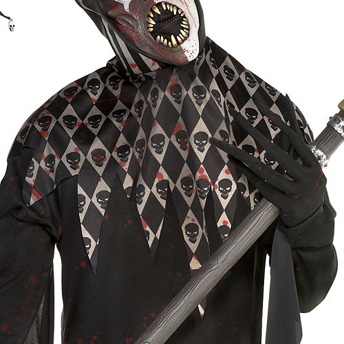 Mens Twisted Jester Costume Image #3
