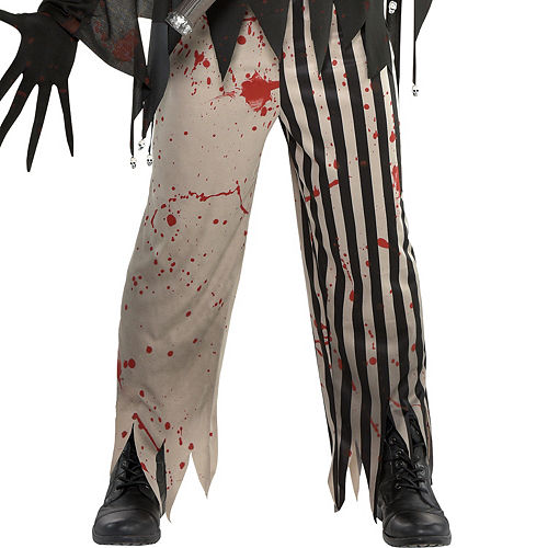 Mens Twisted Jester Costume Image #4