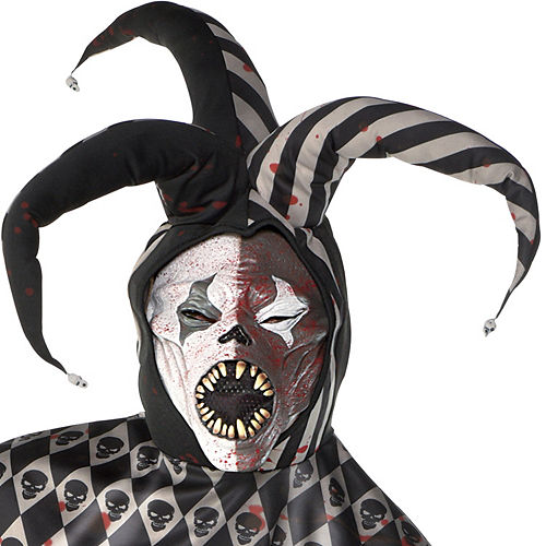Mens Twisted Jester Costume Plus Size Image #2