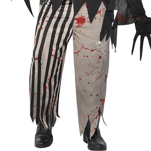 Mens Twisted Jester Costume Plus Size Image #4