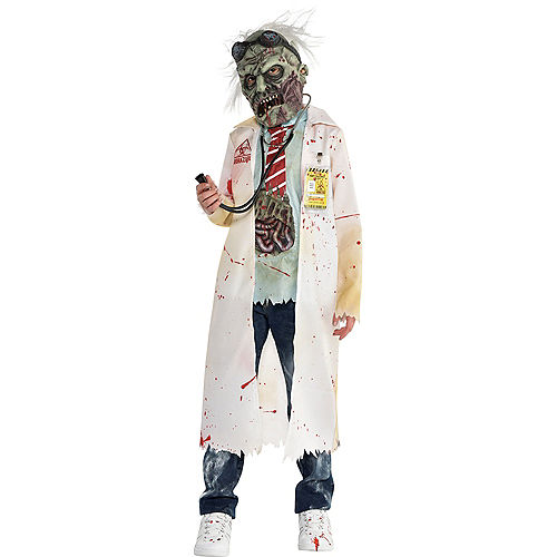 Boys Dr. Zombie Costume Image #1