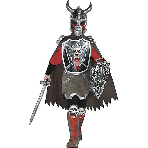 Boys Deadly Knight Costume Image #1