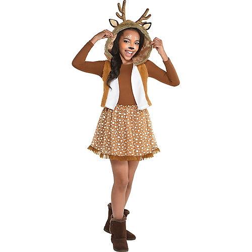 Girls Oh Deer Costume Image #1