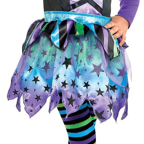 Girls Spell Caster Witch Costume Image #4