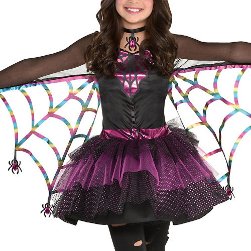 Girls Miss Wicked Web Spider Costume Image #3