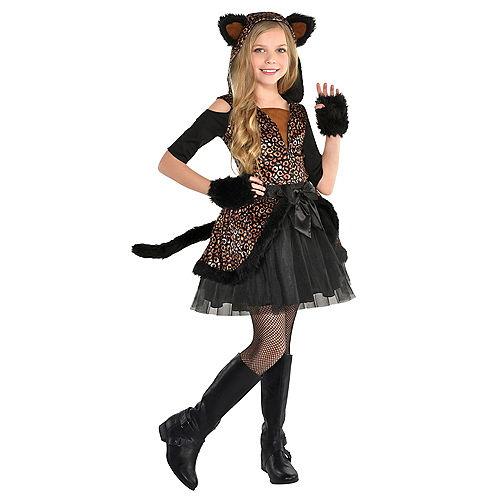 Girls Spot On Leopard Costume Image #1