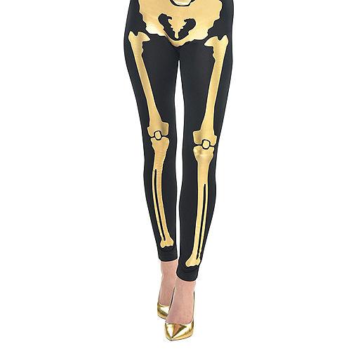 Womens 24 Carat Bones Skeleton Costume Image #3