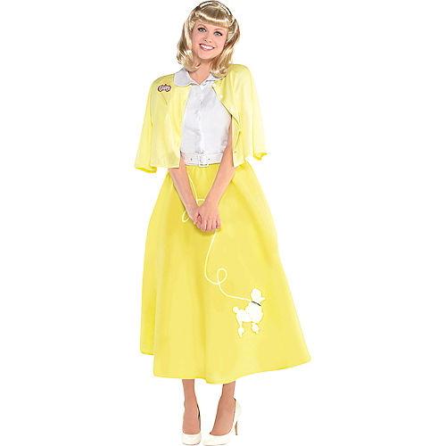 Womens Sandy Olsson Summer Nights Costume - Grease Image #1