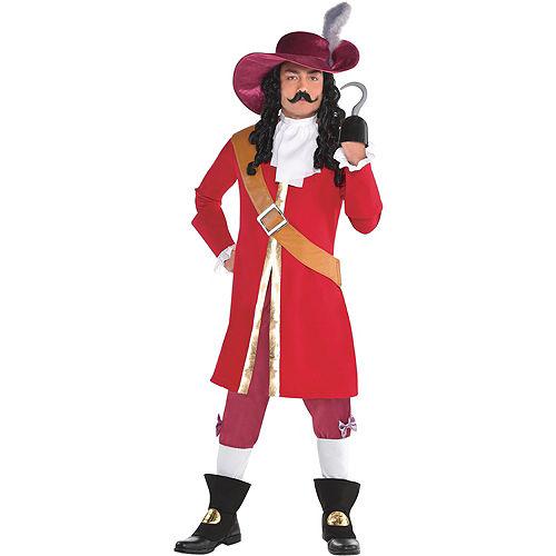 Mens Captain Hook Costume - Peter Pan Image #1