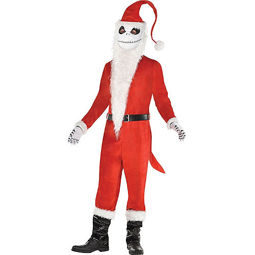Mens Sandy Claws Costume - The Nightmare Before Christmas Image #1