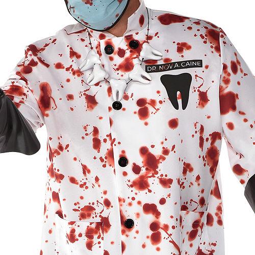 Mens Demented Dentist Costume Plus Size Image #2