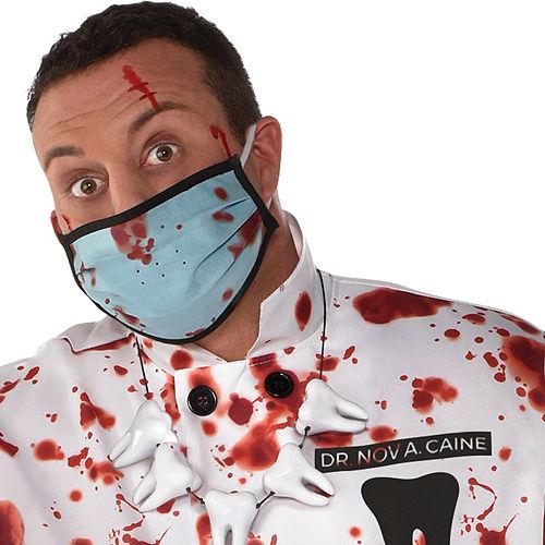 Mens Demented Dentist Costume Plus Size Image #4