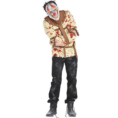 Mens Fun House Psycho Clown Costume Image #1