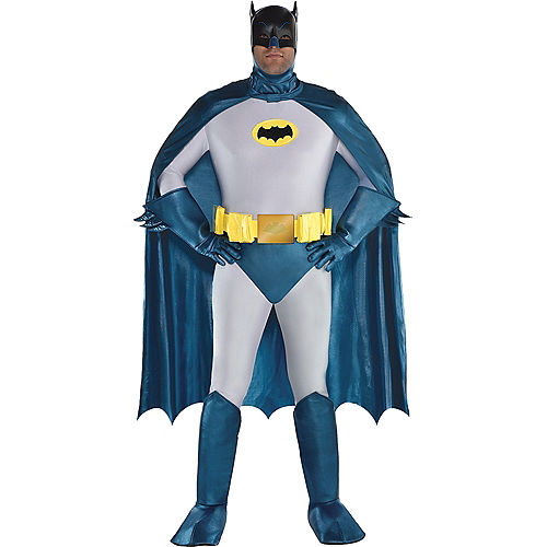 Mens Classic Batman Costume Plus Size Image #1