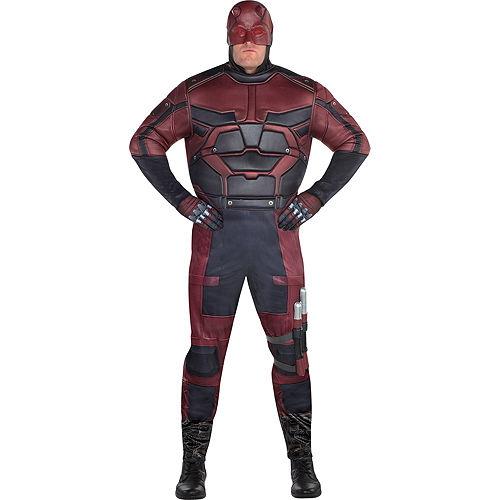 Mens Daredevil Costume Plus Size Image #1