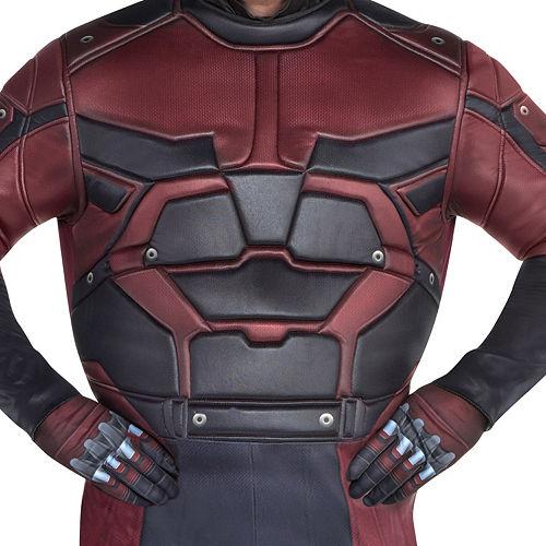 Mens Daredevil Costume Plus Size Image #3