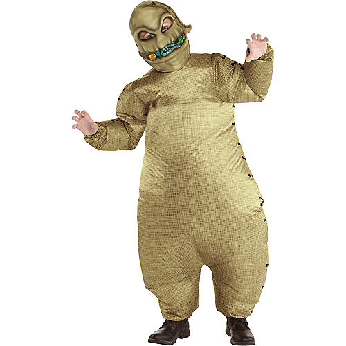 Child Inflatable Oogie Boogie Costume - The Nightmare Before Christmas Image #1