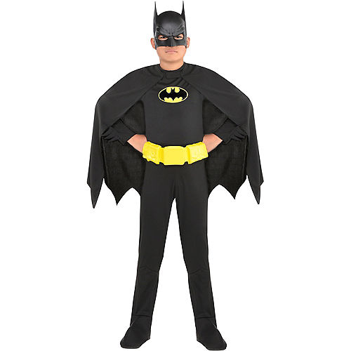Boys Batman Costume Image #1