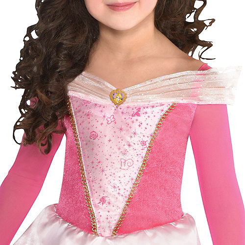 Nav Item for Girls Classic Aurora Costume - Sleeping Beauty Image #2